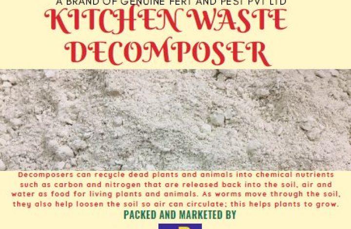 Kitchen waste decomposer_poster
